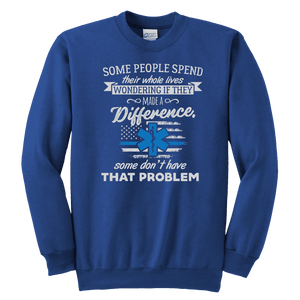 Some People Spend Their Whole Lives - Soft Youth Crewneck Sweatshirt