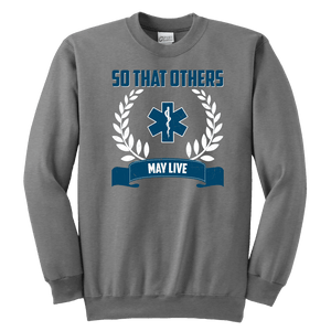 So That Others May Live - Soft Youth Crewneck Sweatshirt