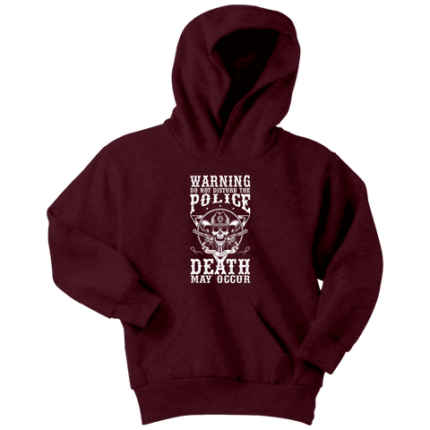 Image of Do Not Disturb The Police - Soft Youth Hoodies