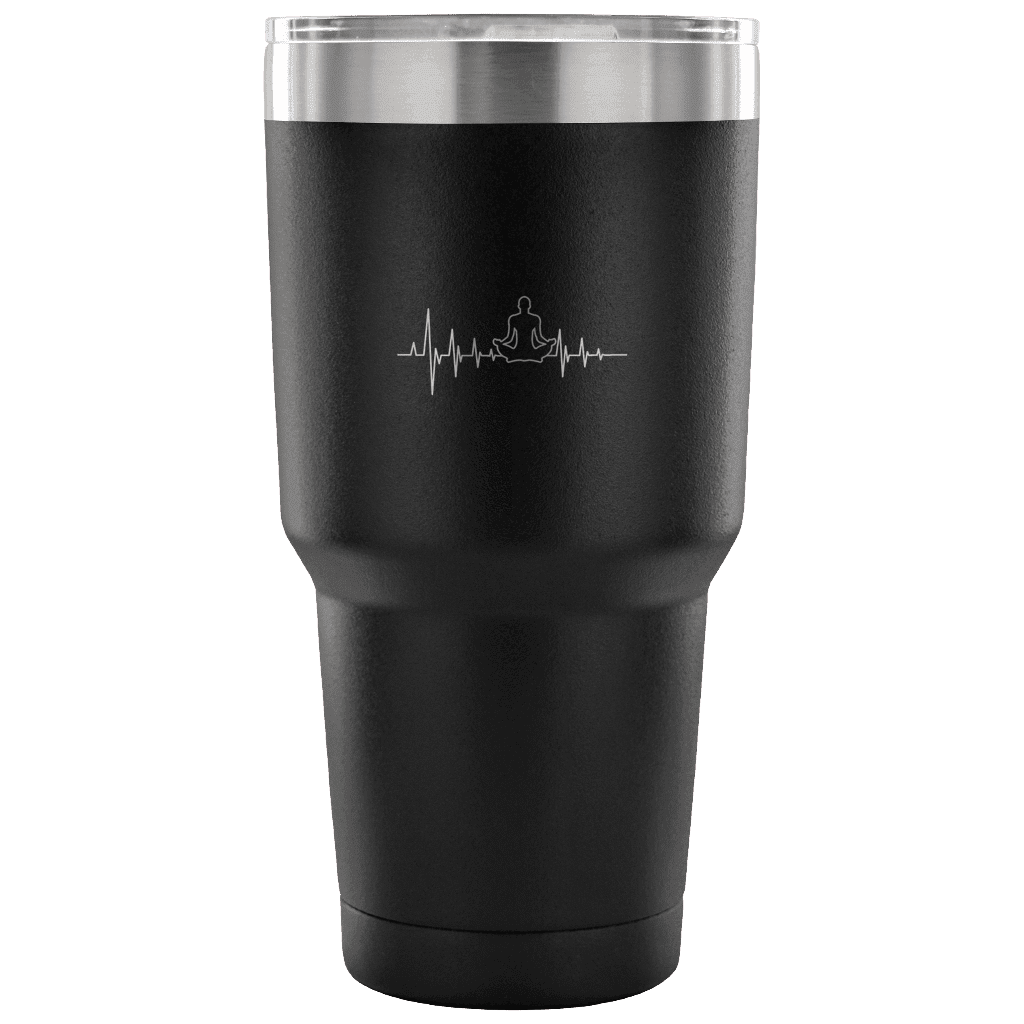 Yoga Heartbeat - 30oz Tumbler