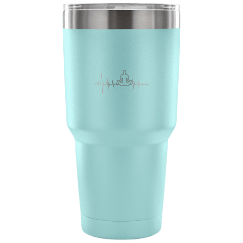 Image of Yoga Heartbeat - 30oz Tumbler