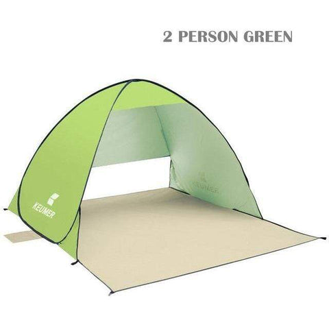 Image of Automatic Pop Up Anti UV Beach Tent
