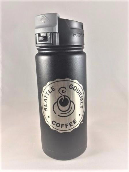 16oz Travel mug - Engraved logo
