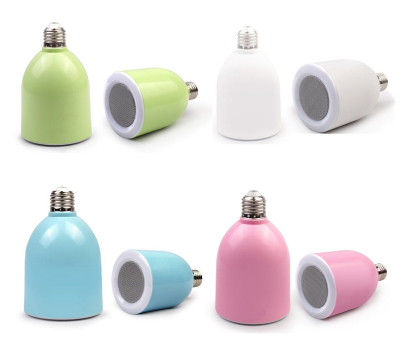 NEW! Melody Wireless Bluetooth Speaker Light Bulb