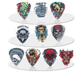 Skull Guitar Picks 10 Pieces