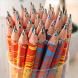 10PCS/Set Mixed Colors Rainbow Pencils