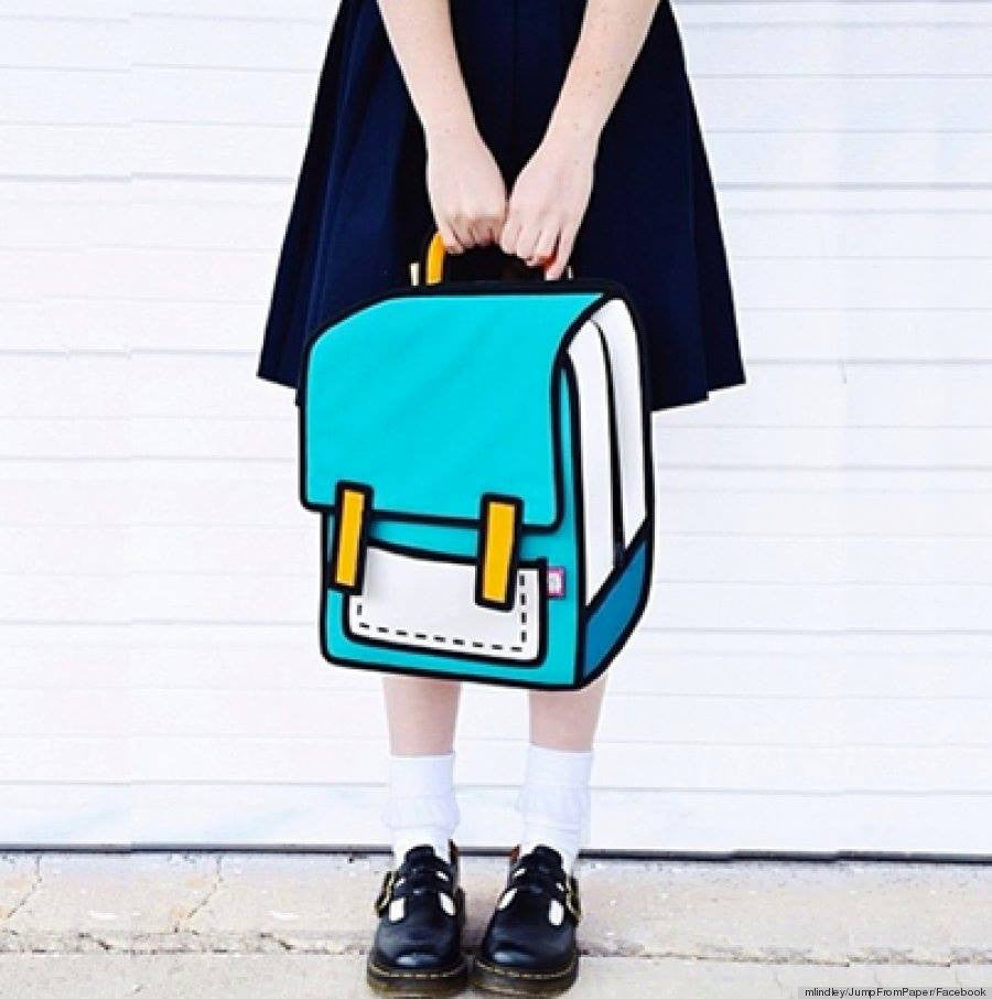 Cartoon Style 2D Bags