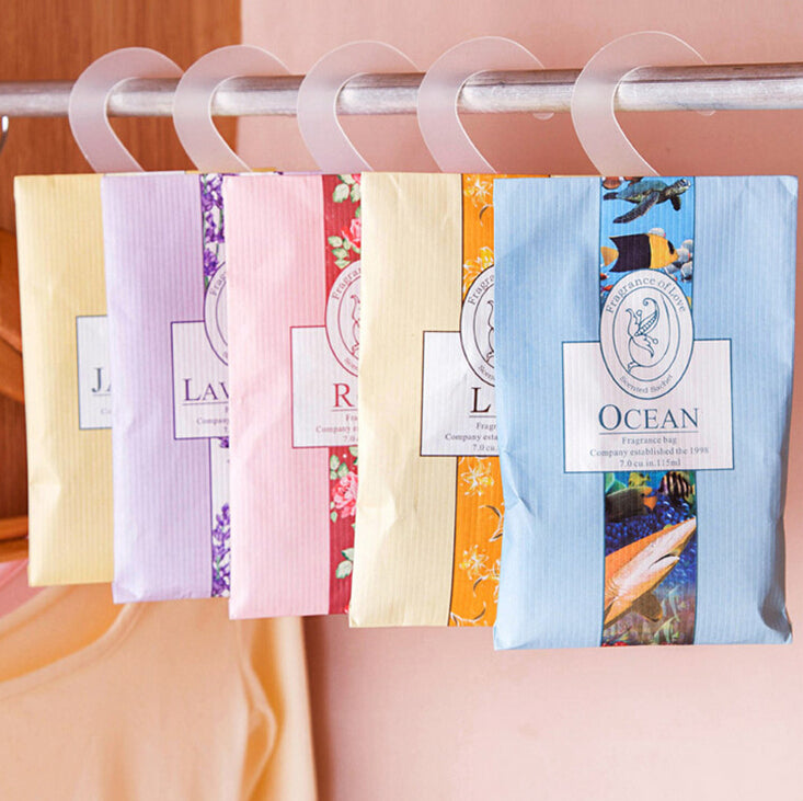 5pcs Aromatherapy Air Fresh Scent Bags