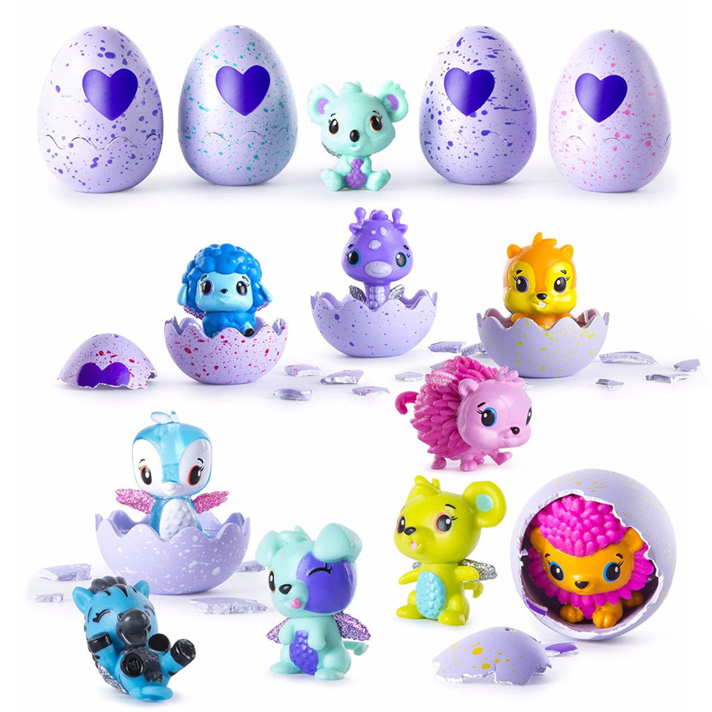10pcs Egg Toy Animal Surprise