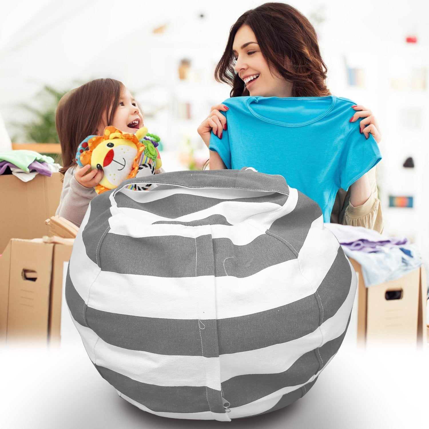 Stuff It Plushy Storage Bean Bag