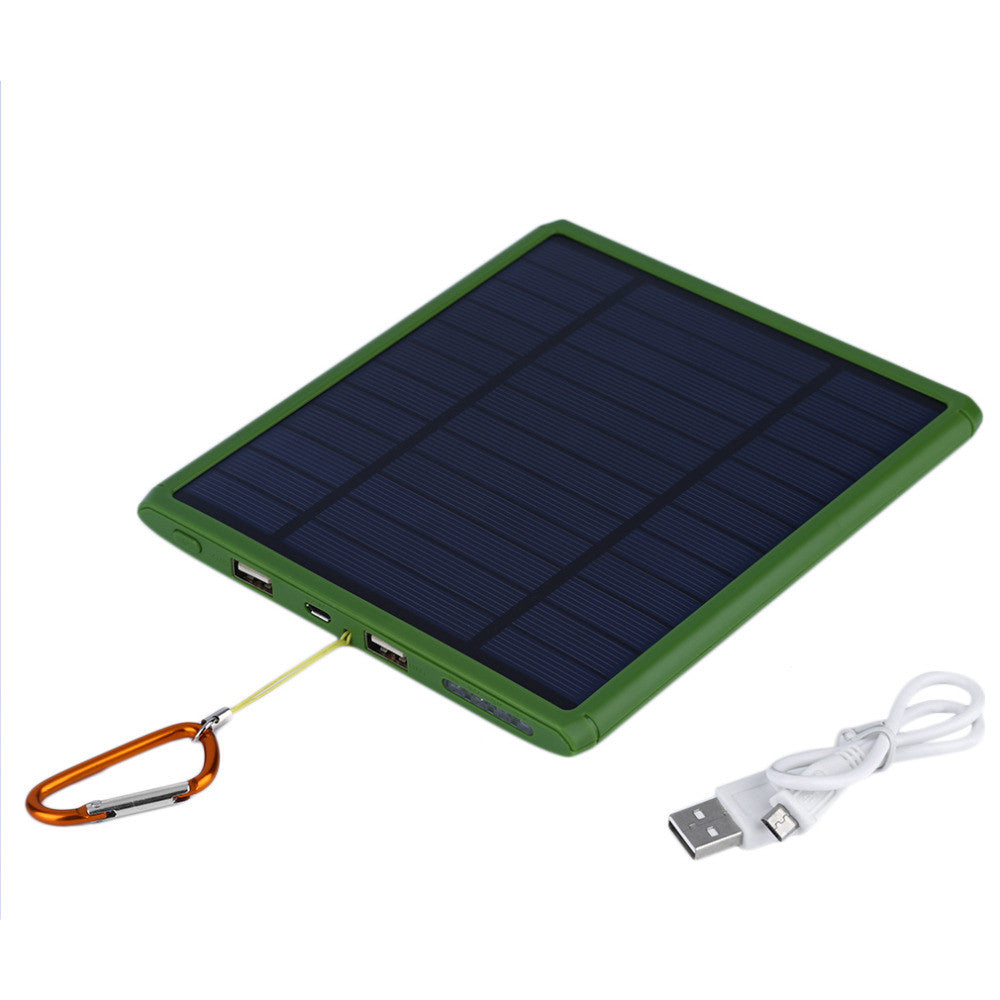 GP Super Charger 9000mAh Solar Power Battery Charger For Mobile Phones