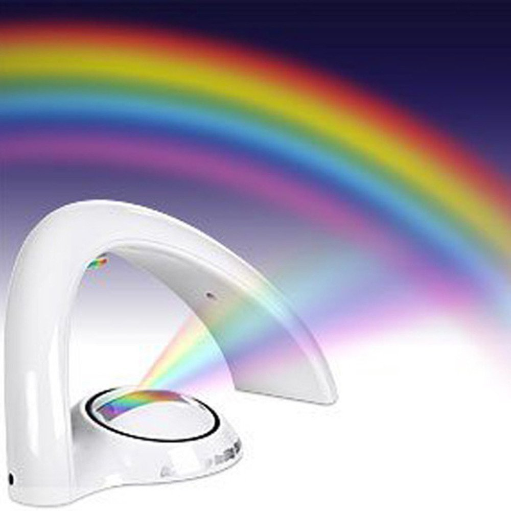 Kids Rainbow Project Night Light