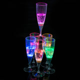 6pcs LED Champagne Glass