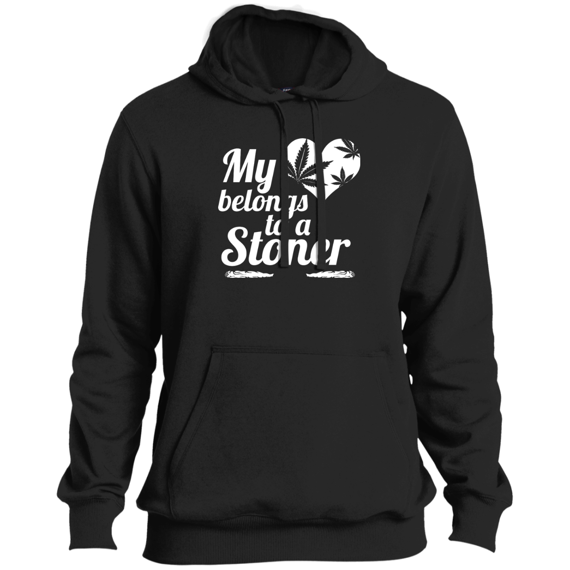 Heart Stoner Tall Pullover Hoodie