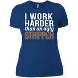 Ugly Stripper Next Level Ladies' Boyfriend T-Shirt