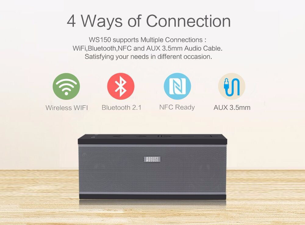 Multi Room Smart WIFI Speakers with Airplay / Spotify / Tidal Support
