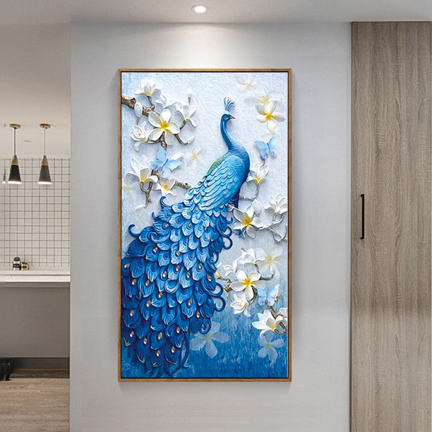 Peacock 5D DIY Mosaic Pixel Diamond Painting KIT