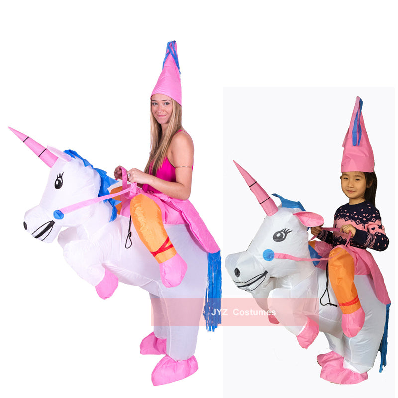 Inflatable Unicorn Costumes for Kids and Adult