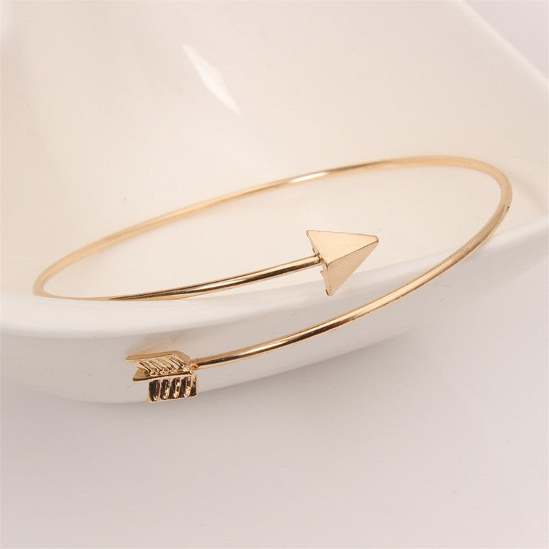 Arrow Bangle Bracelet For Women