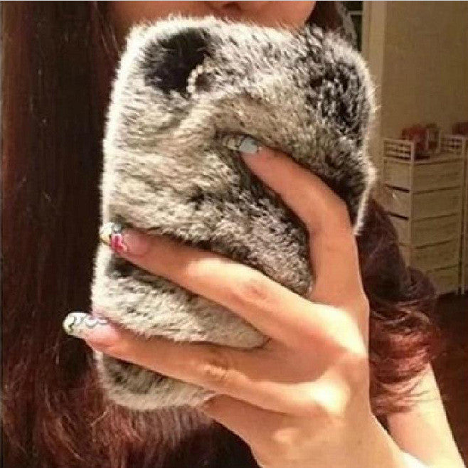 Furry fur phone Case