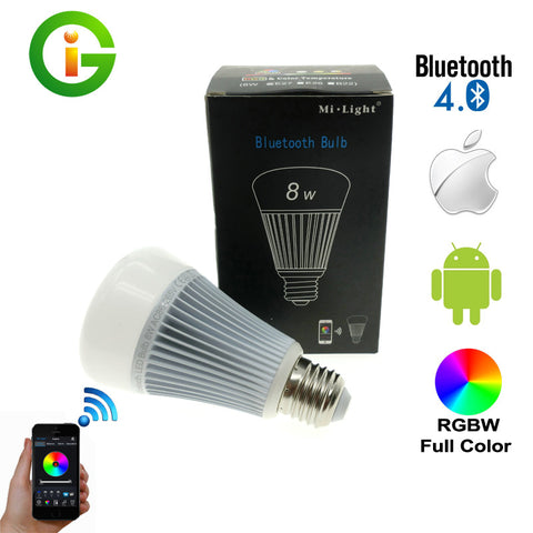 Mi.Light 8w Wireless Bluetooth Globe For USA/AU/UK /w IOS Android APP Control.