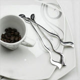 Music Note Shaped Long Handle Stirrer