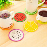 6pcs Fruit Coaster Cup Mat