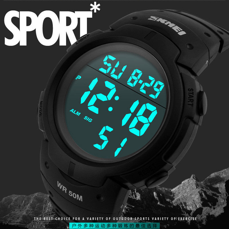 rsvom kids led electronic watch for outdoor digital with backlight watches sports gifts dp girls