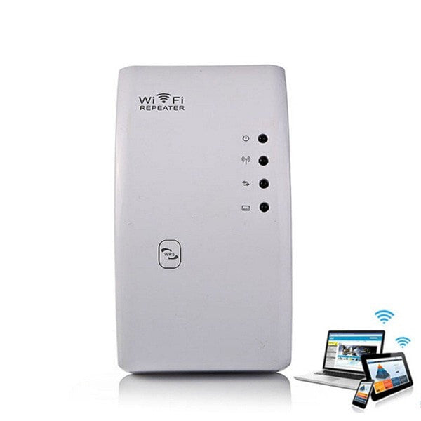 WiFi Genius w/ US Plug - Instantly Double Your WiFi Range