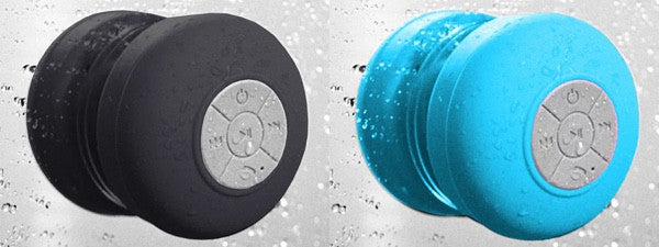 Waterproof Suction Wireless Bluetooth Shower Speaker