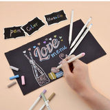 10pcs Metallic Calligraphy Marker Pen Set