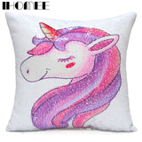 Reversible Sequins Cushion Cover