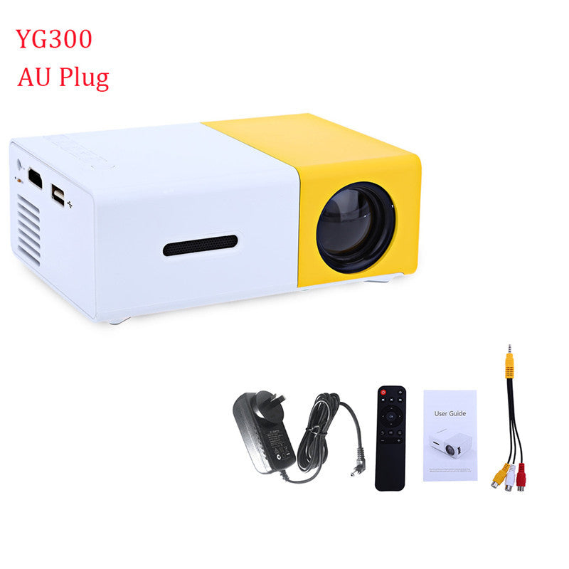 YG300 YG310 LED Portable Projector With HDMI+USB
