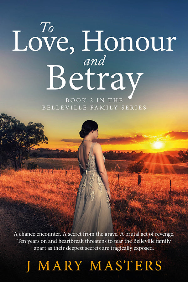 4 **** star review for TO LOVE, HONOUR AND BETRAY, Book 2 of the Belleville series