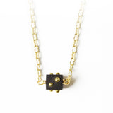Lady Luck Small Cube Necklace