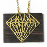 Grand Luxor Wood Necklace