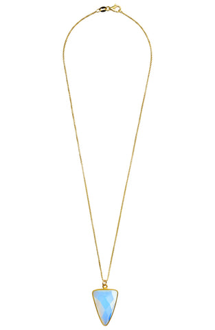You're So Fine Full Moon Necklace | Gold