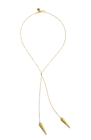 Orbit Necktie | Gold