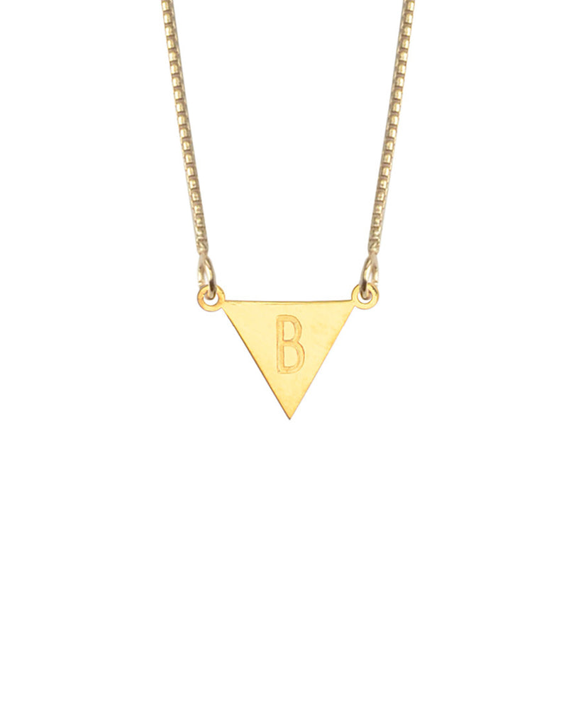 Say My Name Necklace | Gold