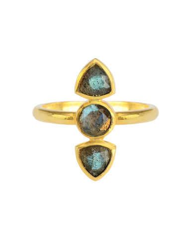 Just a Touch of Turquoise Ring