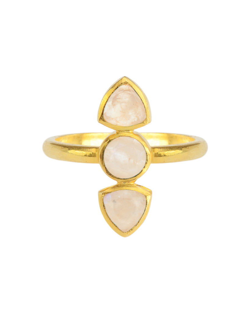 Dagger Ring | Moonstone