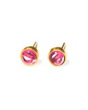 Feel Good Studs | Ruby Quartz