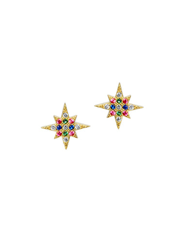 The Dash of Opal Studs