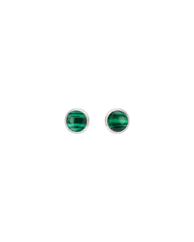 You're So Fine Full Moon Studs | Silver