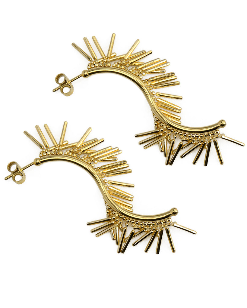 Lala Fringe Statement Earrings