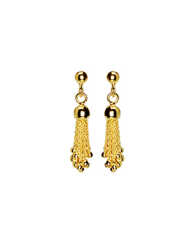 Chloe Fringe Statement Earrings
