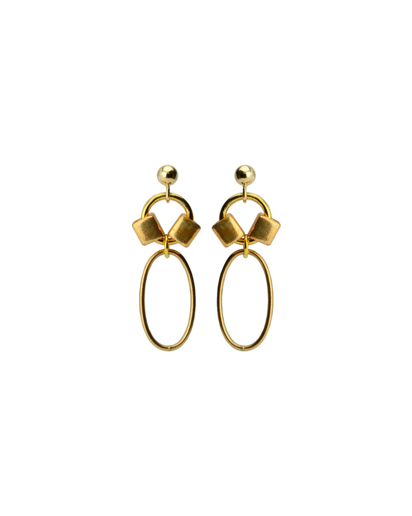 Material World Earrings | Web Exclusive