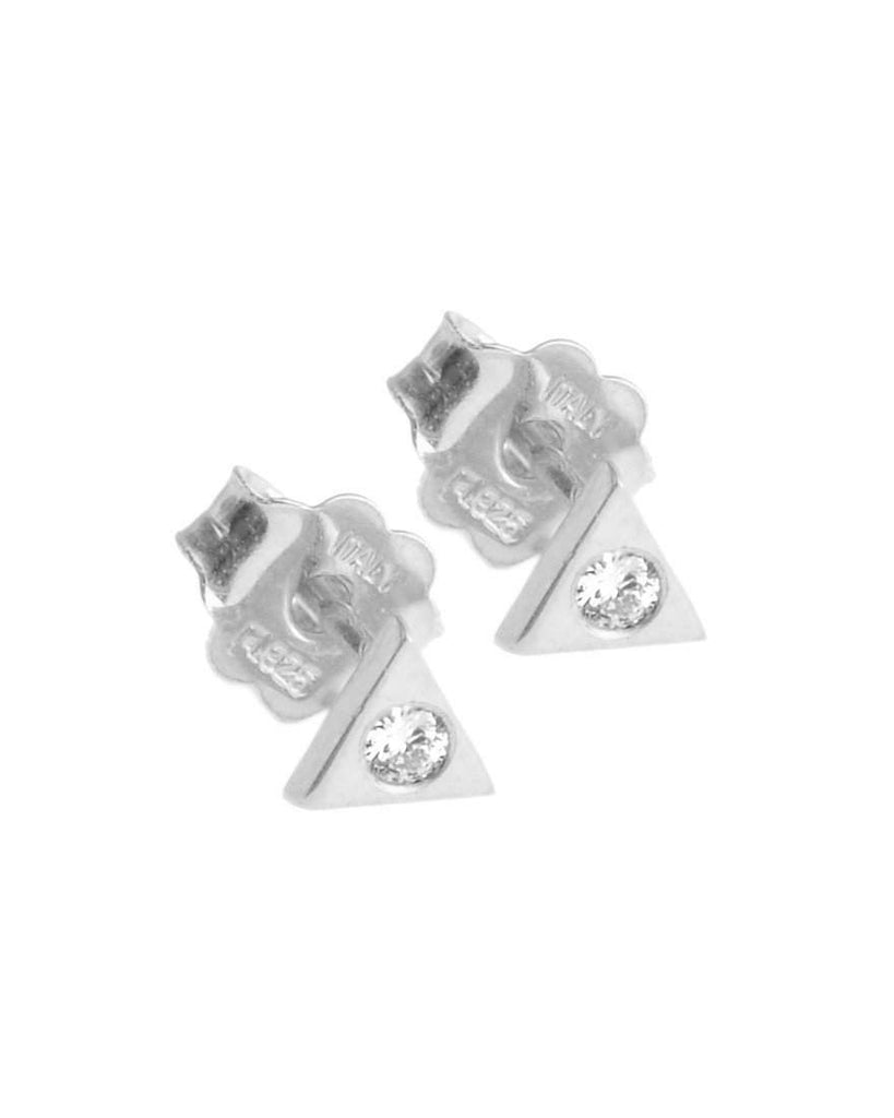 You're So Fine Pyramid Studs | Silver