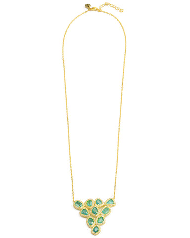 Absolutely Yes Necklace Sparkling Turquoise