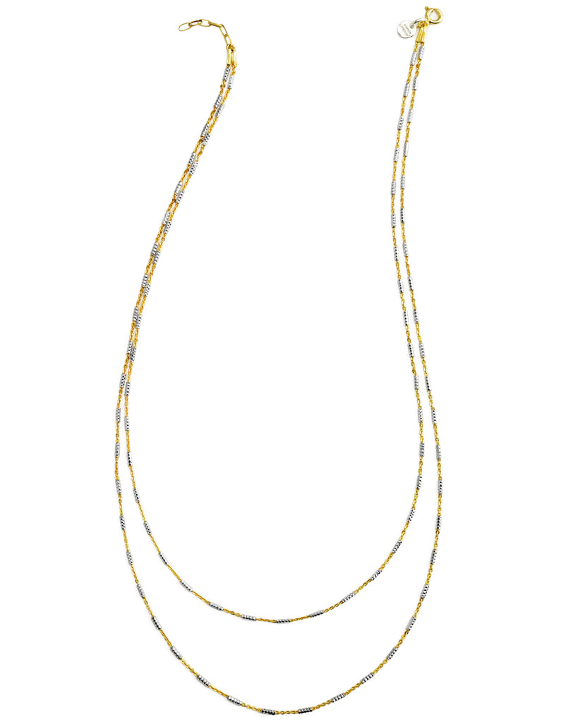 The Intrigue | Two-Tone Double Chain